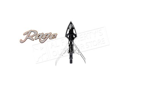 """Rage Slipcam X-Treme Mechanical Broadheads, 2.3""""+ Cut 100 Grain Pack of 2 #RA51000"""
