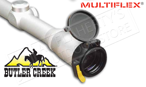 BUTLER CREEK MULTIFLEX SCOPE COVERS - EYE PIECE, VARIOUS SIZES