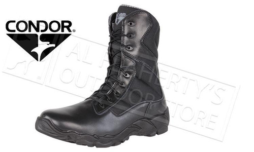 "CONDOR BAILEY 8"" TACTICAL BOOT - BLACK"