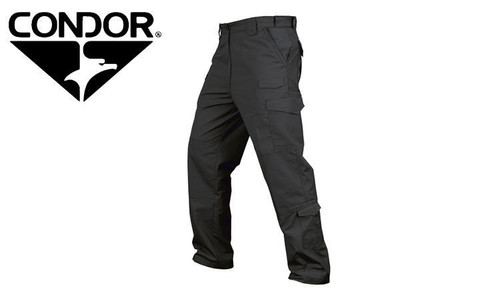 CONDOR 608 SENTINEL TACTICAL PANTS, BLACK