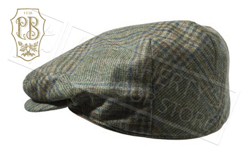 Beretta St James Cap in Green Check, Sizes M-2XL #BC040T07640796