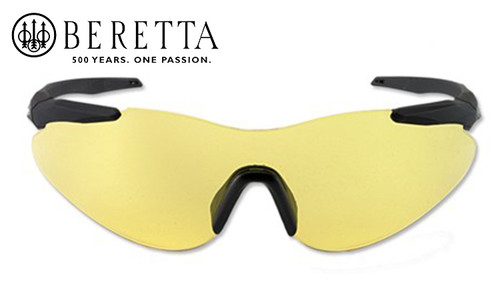 Beretta Challenge Performance Shooting Glasses - Yellow #OCA1-0002-0201