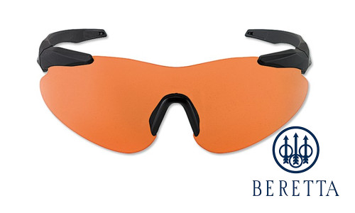 Beretta Challenge Performance Shooting Glasses - Orange #OCA1-0002-0407