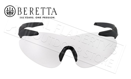 Beretta Challenge Series Performance Shooting Glasses, Clear #OCA1-0000-2090