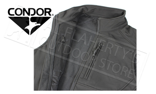 CONDOR 10616 CORE SOFTSHELL VEST M-2XL