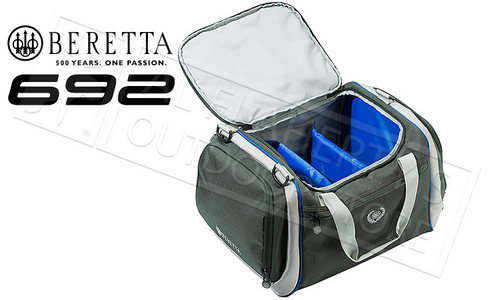 Beretta 692 Cartridge Bag, Large in Light and Dark Grey #BS551030810921UNI