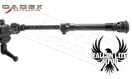 """CADEX DEFENCE FALCON LITE BIPOD - 6.25"""" TO 9"""" HEIGHT #7431K102"""
