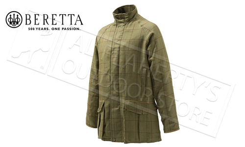 Beretta Light St James Coat, Sizes 54-58 Italian #GU732T1299016B