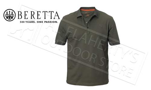 Beretta Corporate Polo Green #MP020072070706
