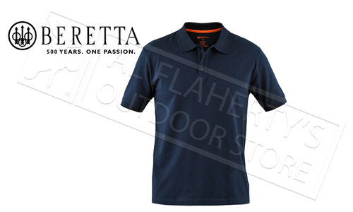 Beretta Corporate Polo Navy #MP020072070504