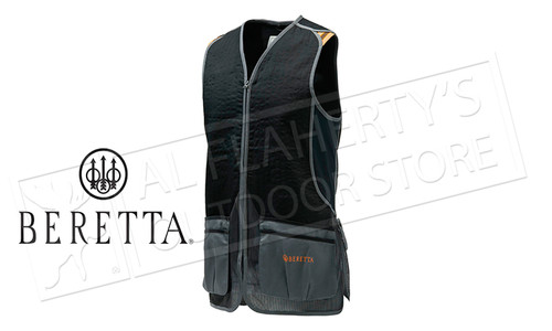 Beretta DT11 Shooting Vest, Black & Gray Sizes M-2XL #GT073T15530903