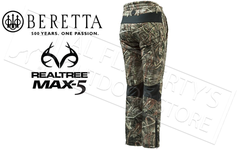 Beretta Fusion BIS Primaloft Pants in Realtree Max5 Camo, Sizes M-2XL #CU452T14040858
