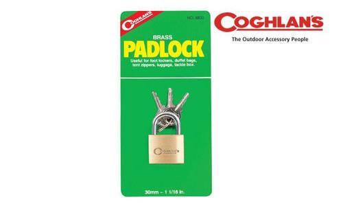 COGHLAN'S BRASS PADLOCK - 30MM #8830