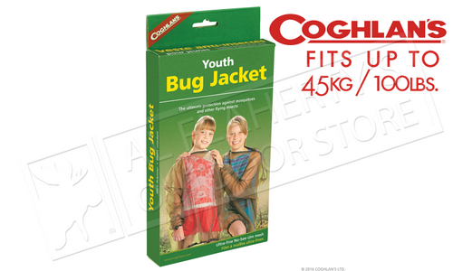 COGHLAN'S BUG JACKET, YOUTH SIZE UP TO 100 LBS. #0563
