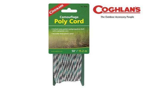 "COGHLAN'S CAMO CORD - 50FT / 15.2M LENGTH, 1/4"" DIAMETER #9050"