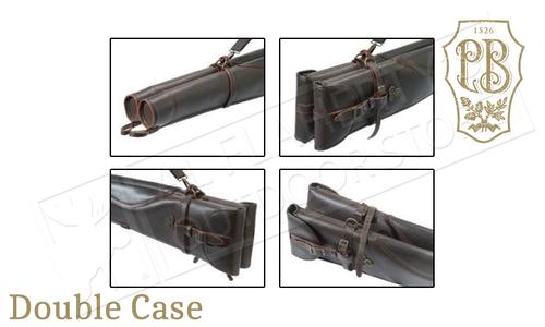 Beretta Hoplon Double Shotgun Case in Italian Leather #FO091L00920889UNI