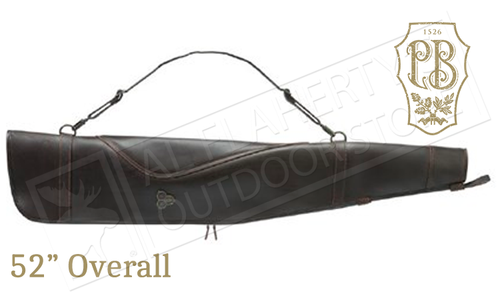 "Beretta Hoplon Rifle Case in Italian Leather, 52"" / 132cm Length # FO111L00920889UNI"