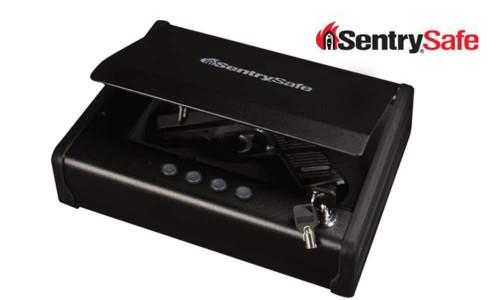 SENTRY SAFE SMALL DIGITAL PISTOL SAFE