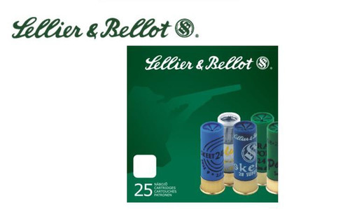 "Sellier & Bellot 12 Gauge 2-3/4 "" 1 oz Special Sport Slug Box of 25"