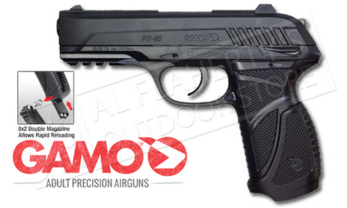 Gamo PT-85 Blowback Air Pistol, .177 Pellet