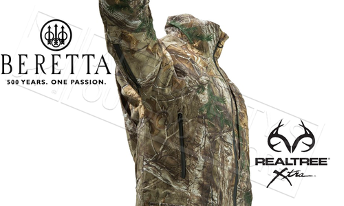 Beretta Light Static Jacket in Realtree Xtra Camo #GU43202295089E
