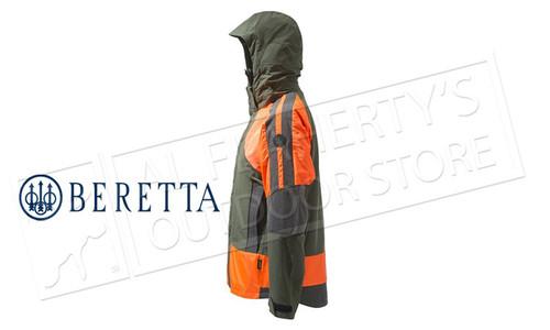 Beretta Thorn Resistant Jacket GTX in Green & Orange M-2XL #GU033T1429077W