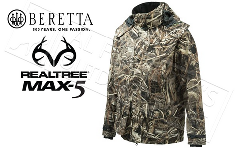 Beretta Waterfowler Max5 Jacket, Sizes M-XXL #GU103022950858