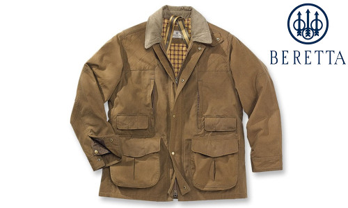 Beretta Waxed Cotton Field Jacket, M-3XL #GU1320610832