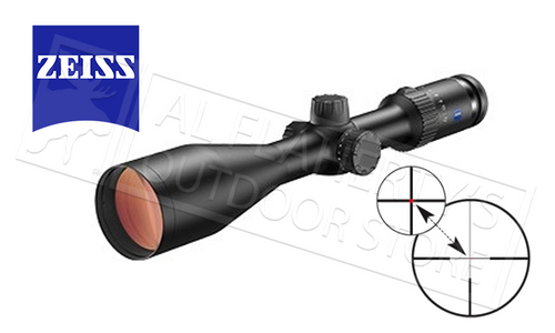 ZEISS CONQUEST V4 RIFLE SCOPE 3-12X56MM WITH 60 ILLUMINATED RETICLE