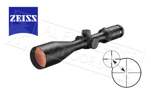 ZEISS CONQUEST V4 RIFLE SCOPE 3-12X56MM WITH #20 Z-PLEX RETICLE