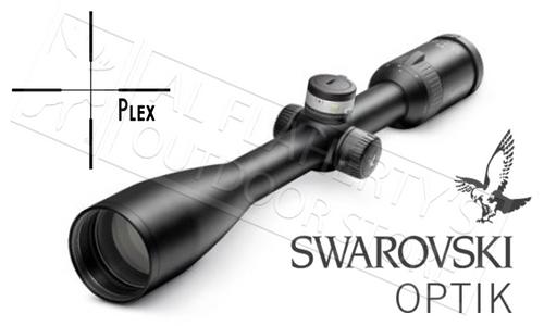 SWAROVSKI Z5 SCOPE 3.5-18X44MM WITH PLEX RETICLE, BALLISTIC TURRETS & PARALLAX ADJUSTMENTS