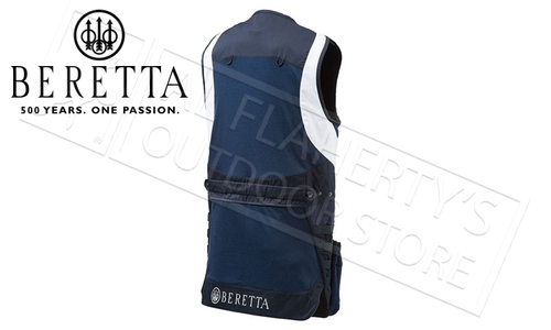 Beretta MOLLE Shooting Vest in Navy Blue, S-2XL #GT022T11300530