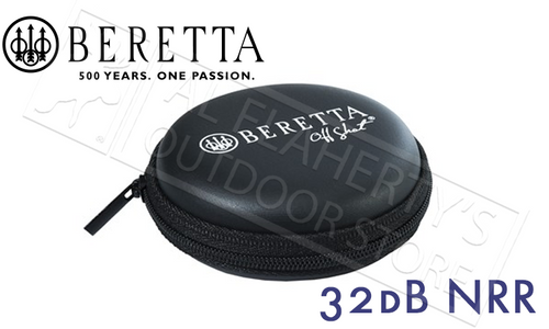 Beretta Off Shot Ear Plugs, Mini-Head Set 32db NRR #CF031A56