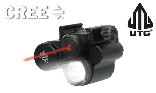UTG SUB-COMPACT LIGHT & LASER COMBO, INCLUDES REMOTE PRESSURE SWITCH