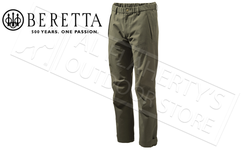 Beretta Pants 2-Layer Shell in Green, M-2XL #CU392022950715
