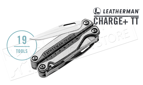 Leatherman Charge Plus TTi Multi-Tool with Sheath #832528