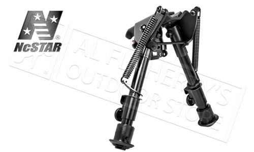 "NCSTAR PRECISION GRADE COMPACT BIPOD 5.5"" TO 8.0"" W/MULTIPLE MOUNTING OPTIONS"