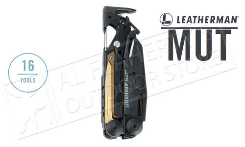 Leatherman MUT Tactical Multi-Tool, Black with MOLLE Sheath #850122