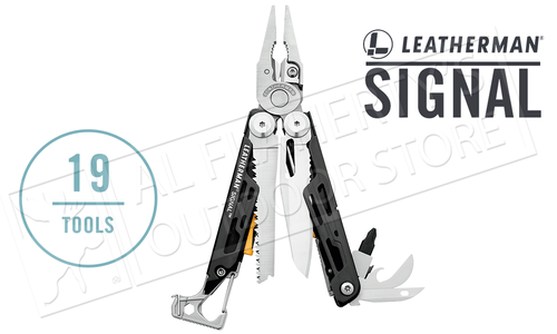 Leatherman Signal Multi-Tool - Stainless with Nylon Sheath #832280