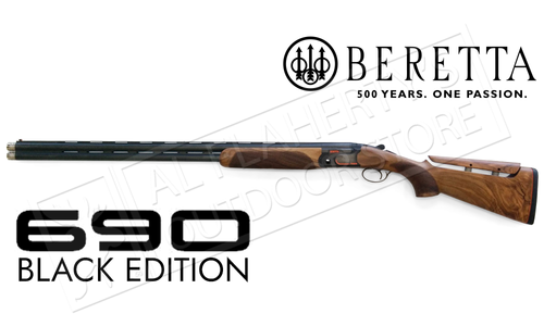 Beretta SG 690 Competition Shotgun LH with B-Fast Adjustable Comb and Extended Chokes #4Q765C12
