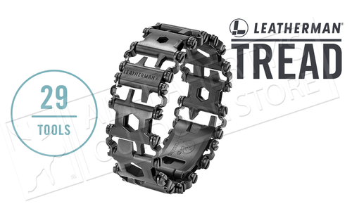 Leatherman Tread Wearable Multi-Tool - TSA Approved in Black #831999n