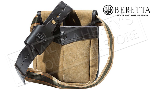 Beretta Terrain Shotgun Shell Pouch, Canvas and Leather #BS611T1499016EUNI
