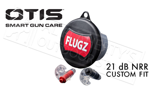 OTIS FLUGZ CUSTOM EARPLUGS 21DB NRR