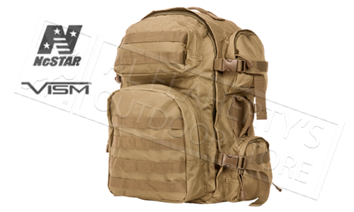 VISM TACTICAL BACKPACK TAN #CBT2911