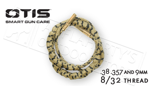 OTIS RIPCORD BORESNAKE FOR .38 .57 AND 9MM CALIBER HANDGUNS