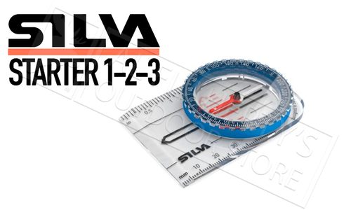 Silva Starter 1-2-3 Compass #SI376809001