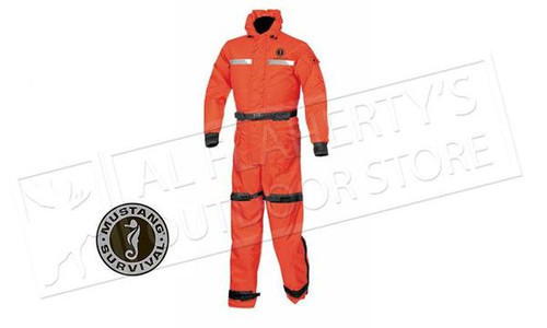 Mustang Integrity Deluxe Floating Suit Orange #MS195