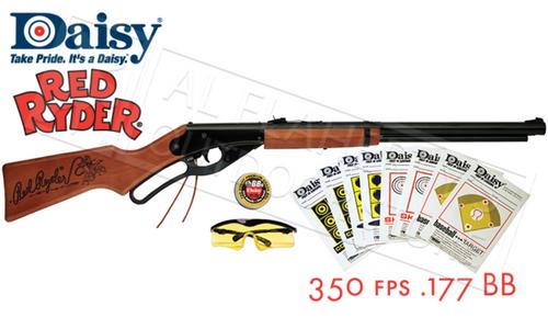 Daisy Red Ryder Fun Kit, 650 Shot .177 BB 350 fps #4938