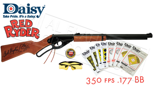 Daisy Red Ryder Fun Kit, 650 Shot .177 BB 350 fps #4938