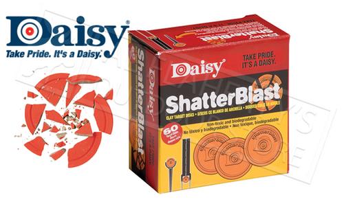 Daisy ShatterBlast Airgun Target Disks, 60 Pack #873